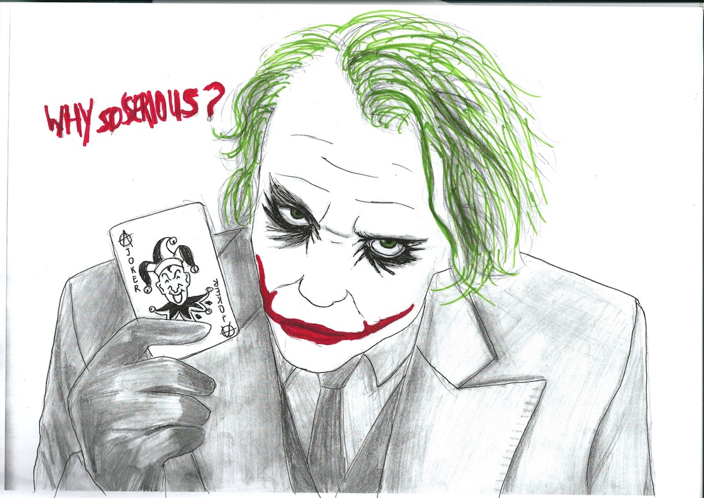 Dessin joker facile - Dessiner batman ...
